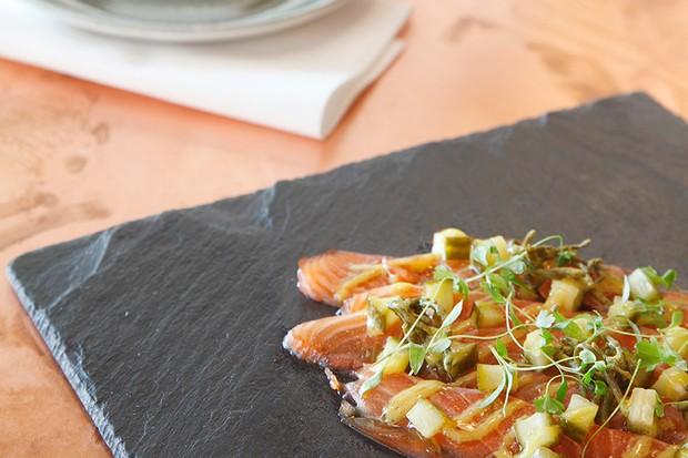 Salt + Pickle - cured salmon