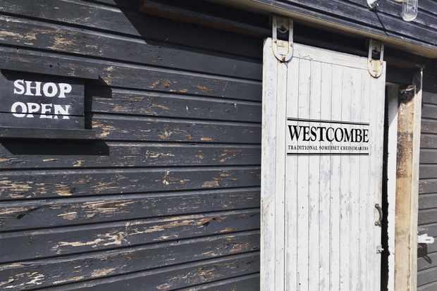 Westcombe dairy shop