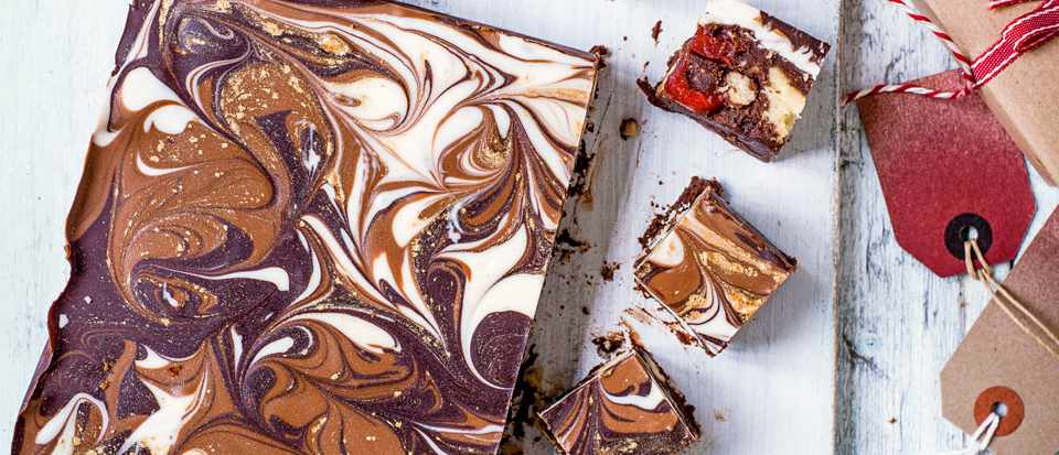 Baileys Chocolate Tiffin Recipe for Christmas