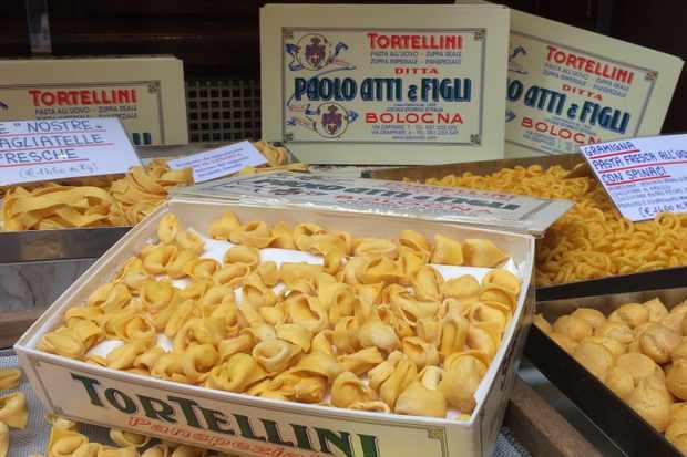 Bologna market - shop Paolo Atti & Figli