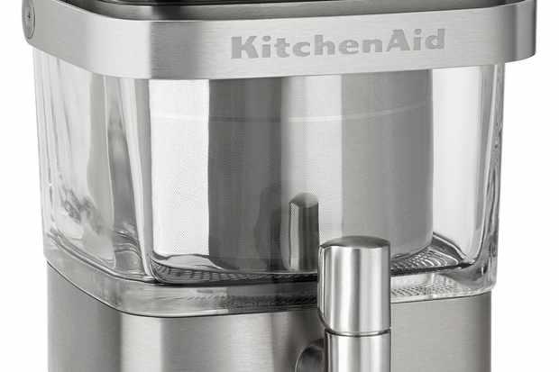 Silver KitchenAid Cold Brew Coffee machine