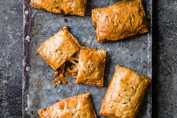 Fennel Sausage hand pie recipe