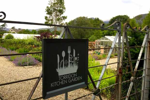Kitchen garden sign