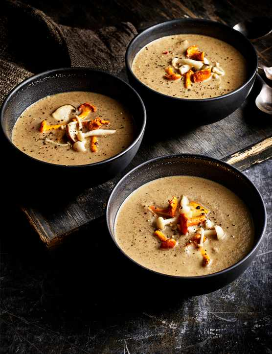 Mushroom Soup Recipe With Pickled Mushrooms