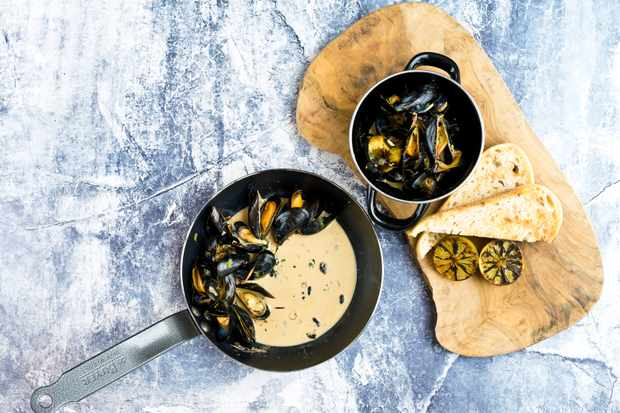 Welsh Mussels