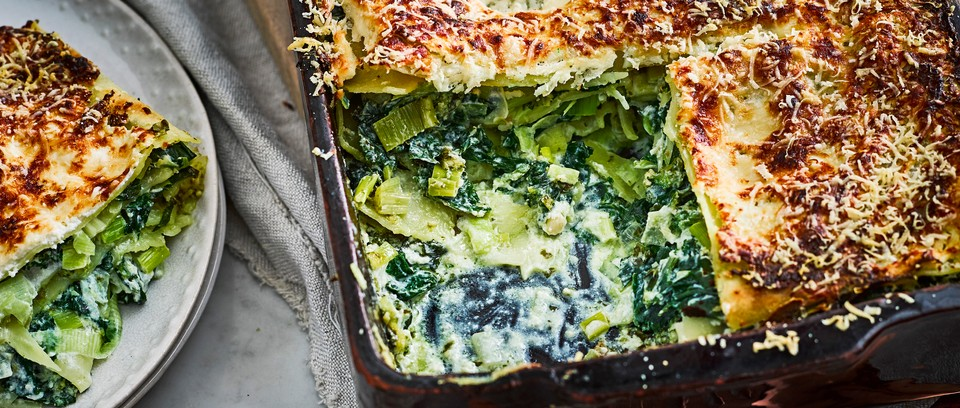 12 Easy Vegetarian Lasagne Recipe For Vegetable Lasagna Olivemagazine