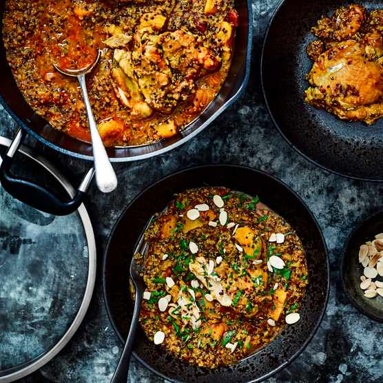 One-Pot Chicken and Quinoa Tagine Recipe