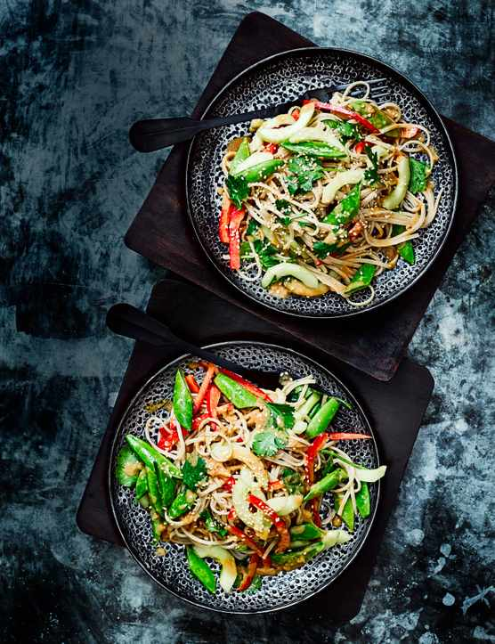 Cold Szechuan Noodles Recipe