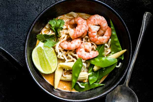 Instant thai coconut noodles recipe