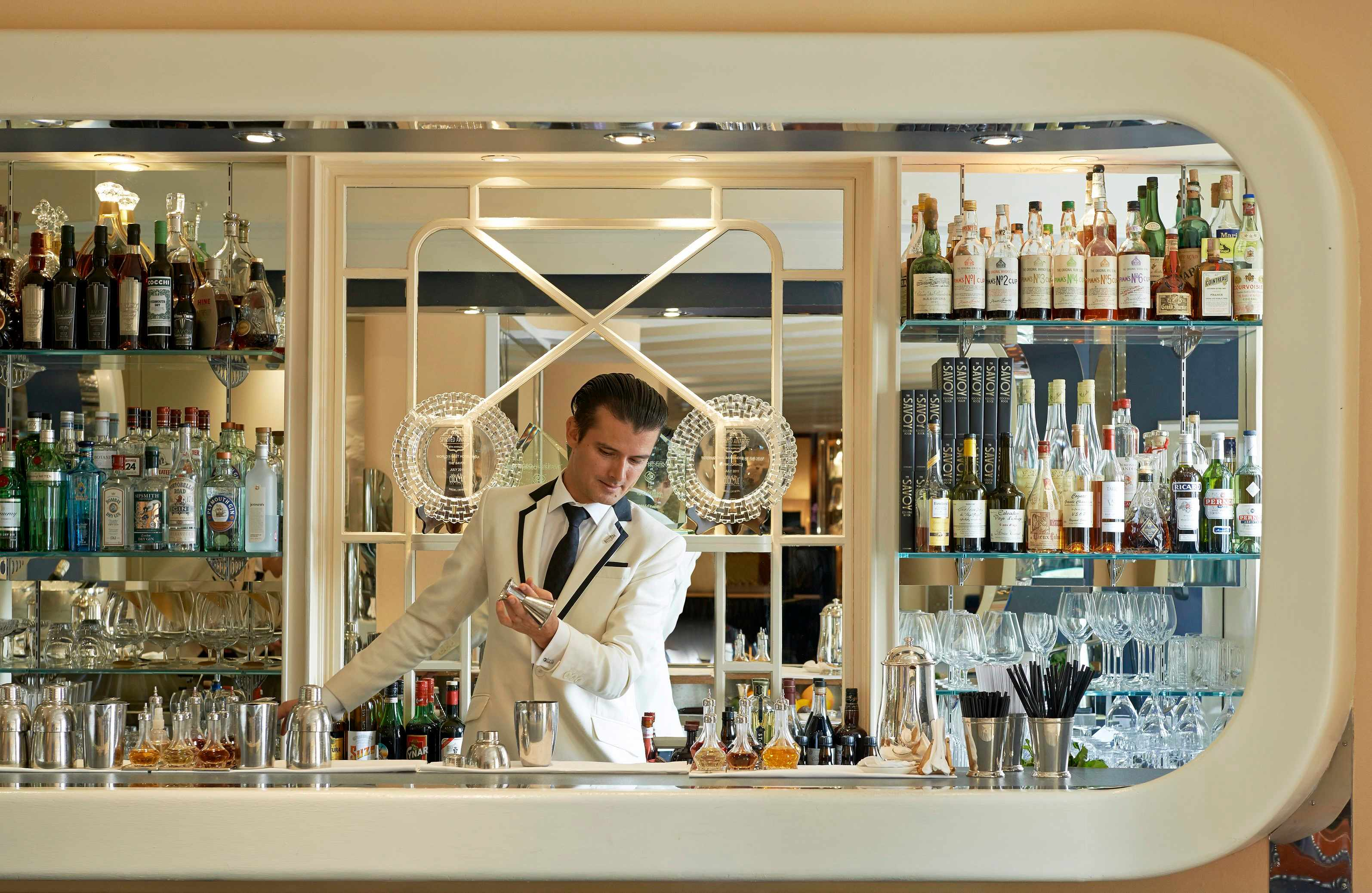 50 Best Bar Awards 2017 Results American Bar Savoy Best Bar In The World