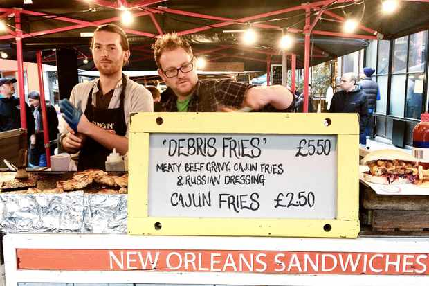 Slingin Po Boys Street Food London