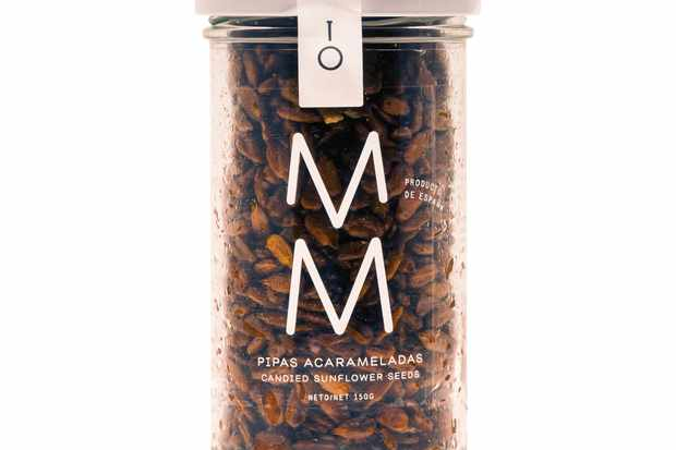 MM candied sunflower seeds