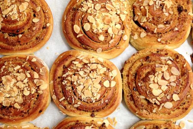 Danish pastries in Loaf, Birmingham