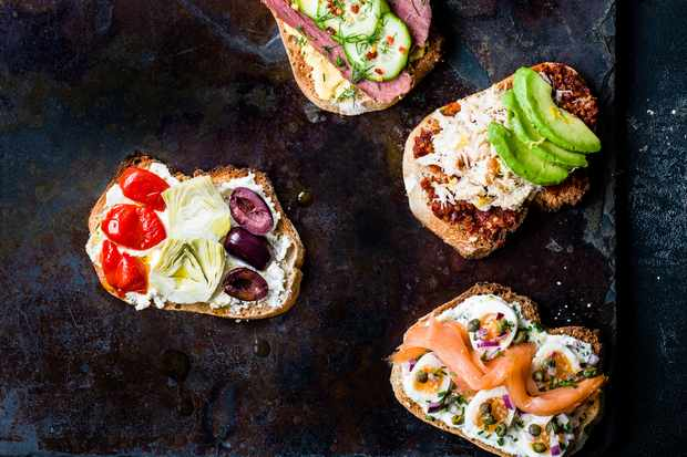Easy Party Canapé Recipes