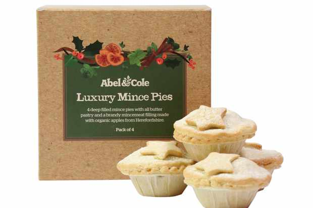 Abel and Cole luxury mince pies