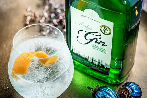 Aldi Oliver Cromwell London dry gin