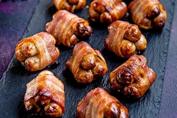 Aldi Specially Selected three little pigs, pigs in blankets