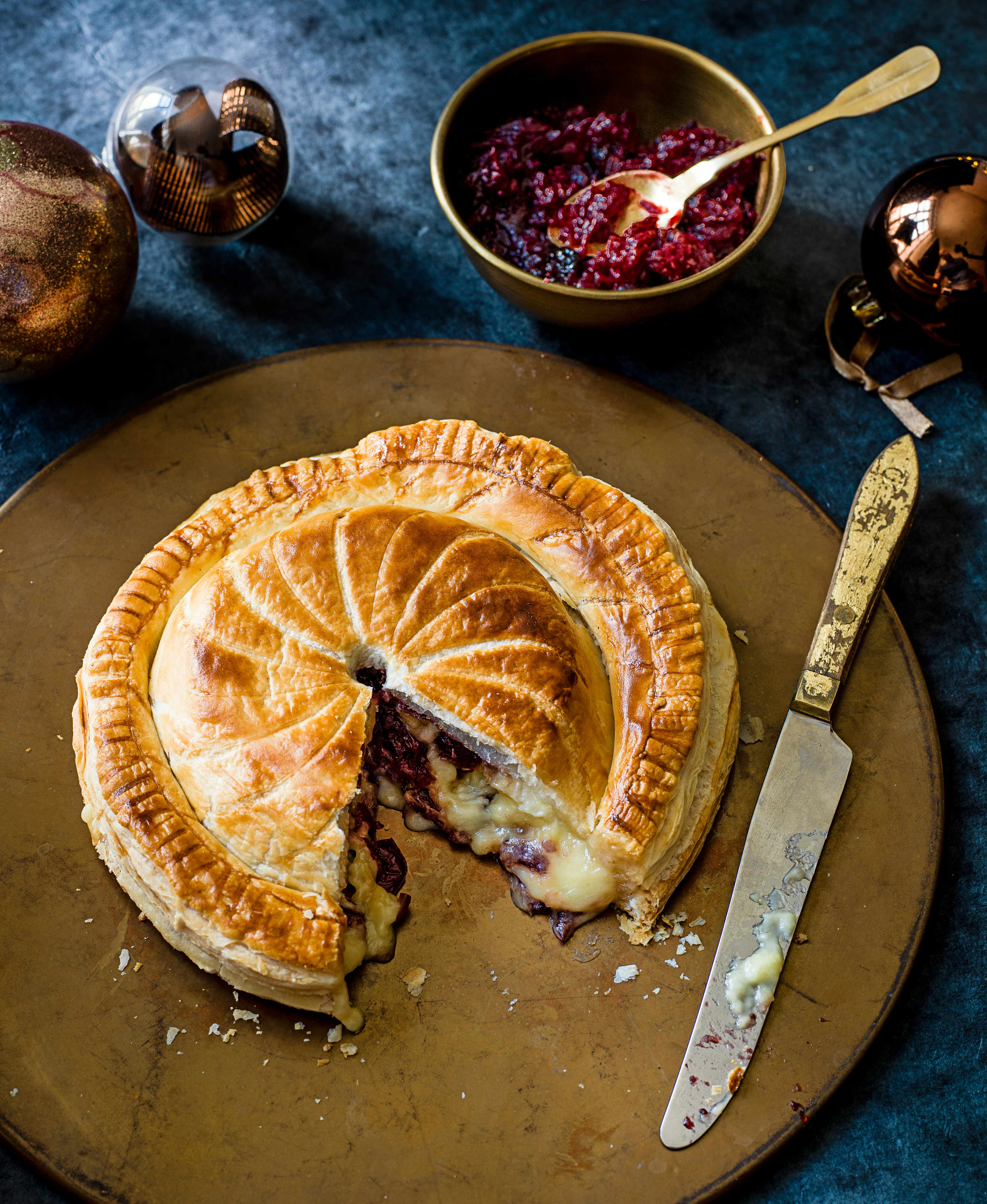 Camembert and Cranberry Pithivier