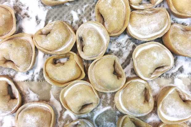 Bottega Caruso's cappelletti