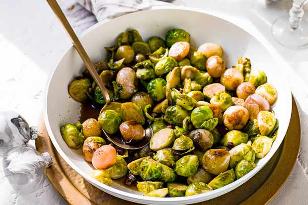 Brussels Sprouts Recipe with Shallots