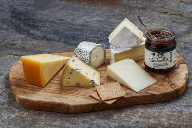 Muswell Hill cheese board