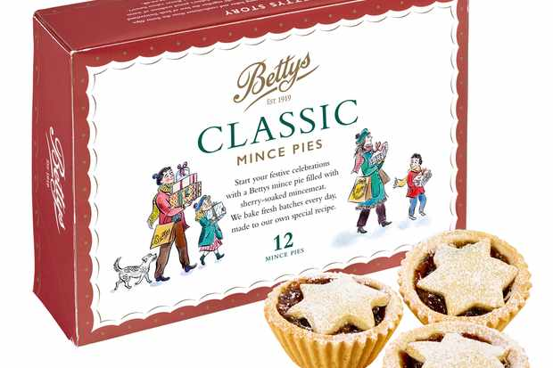 Betty's classic mince pies