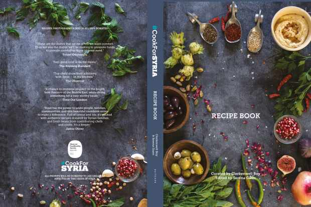 #CookForSYRIA recipe book