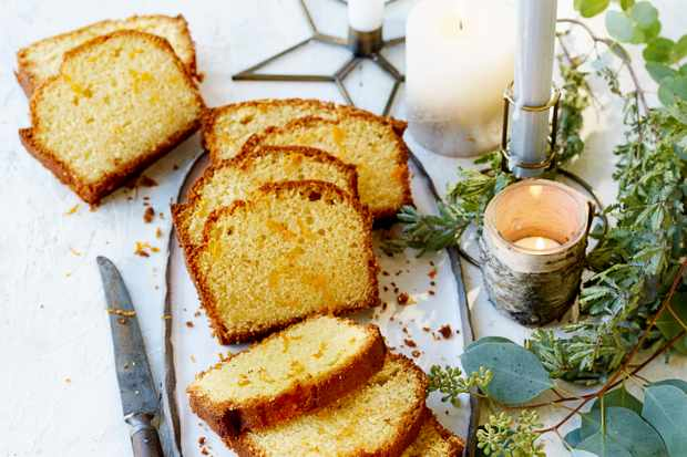 Clementine drizzle loaf recipe