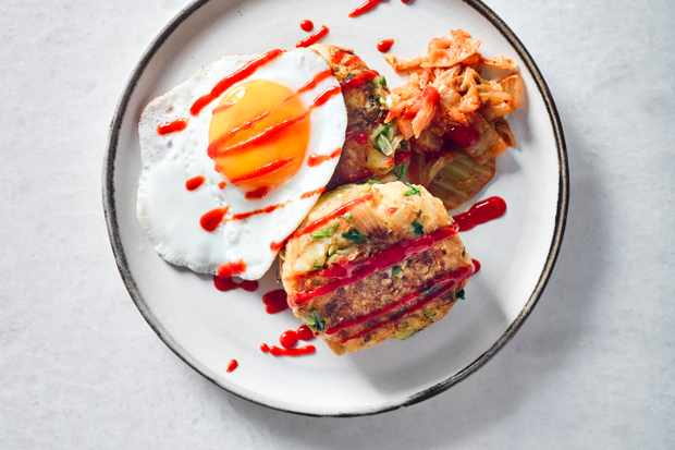 Bubble and Squeak Recipe with Kimchi