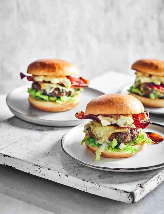 Raclette Cheese Burgers Recipe
