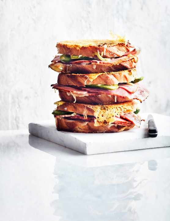 Savoury French Toast Recipe With Fontina Prosciutto And