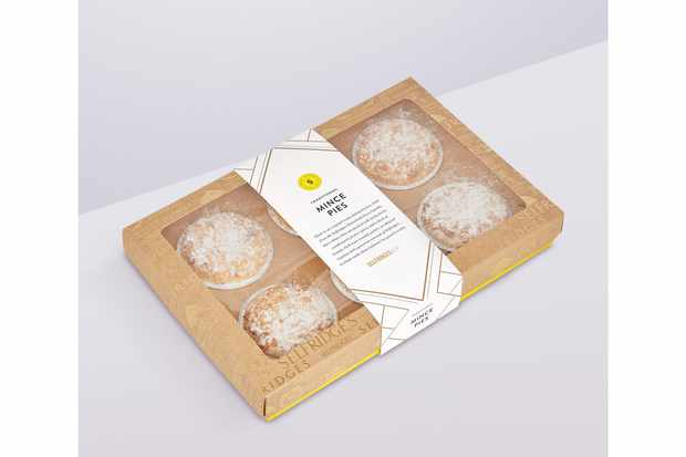 Selfridges selection traditional mince pies