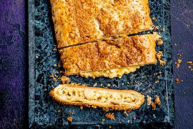 Sainsbury's Taste the Difference truffled cauliflower cheese en croute