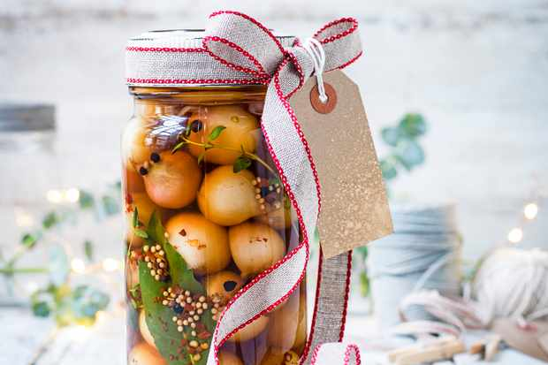 Spiced Pickled Onions Recipe