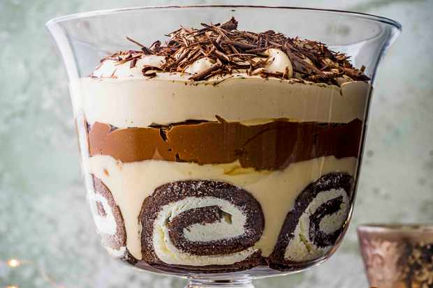 Edd Kimber Christmas Trifle Recipe
