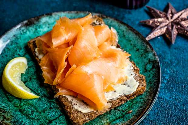 Waitrose 1 chestnut-smoked Scottish salmon