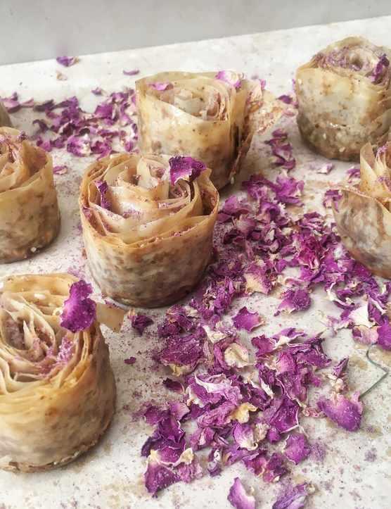 Rose Baklava Recipe