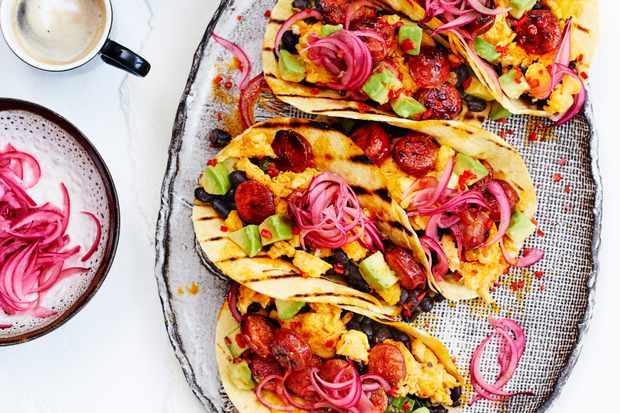 Easy Breakfast Tacos Recipe