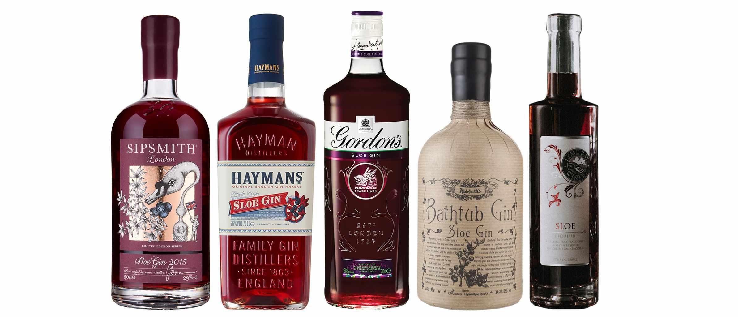 Sloe gin taste test header image