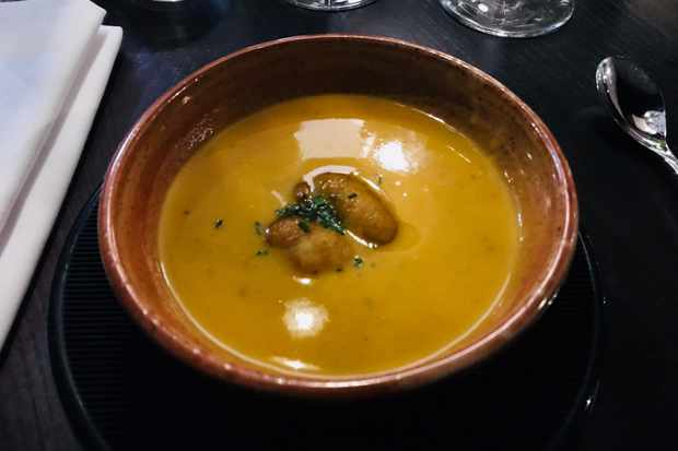 Wood Manchester - spiced squash veloute