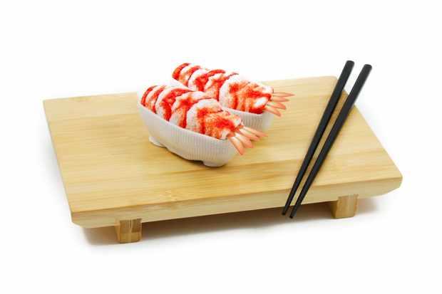 Sous chef sushi socks