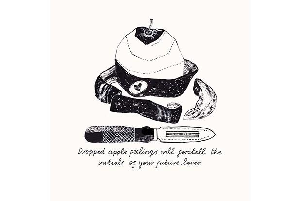 Alice Pattullo apple peel print