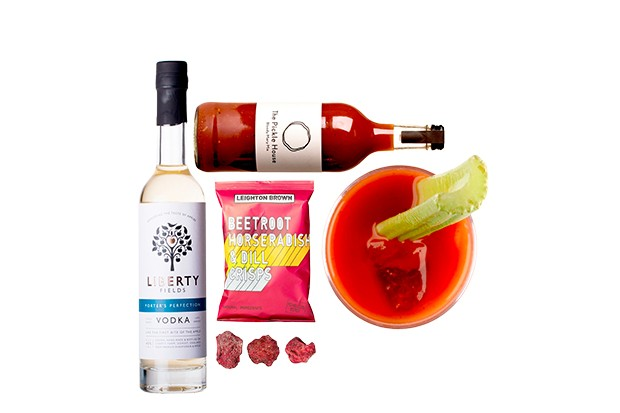 Craved London British bloody Mary cocktail kit