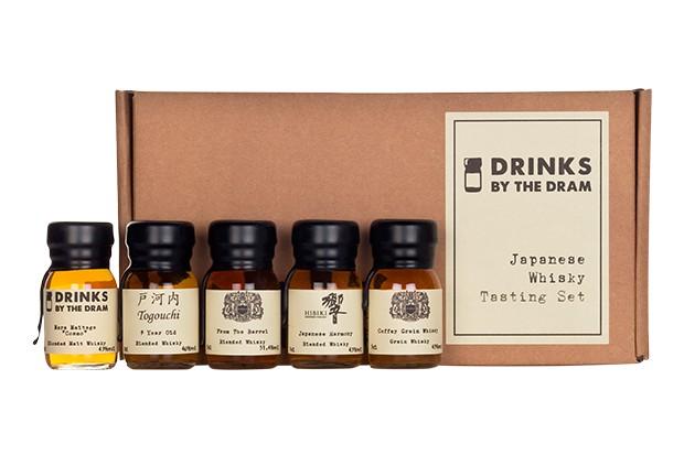 Drinks by the Dram Japanese whisky tasting set