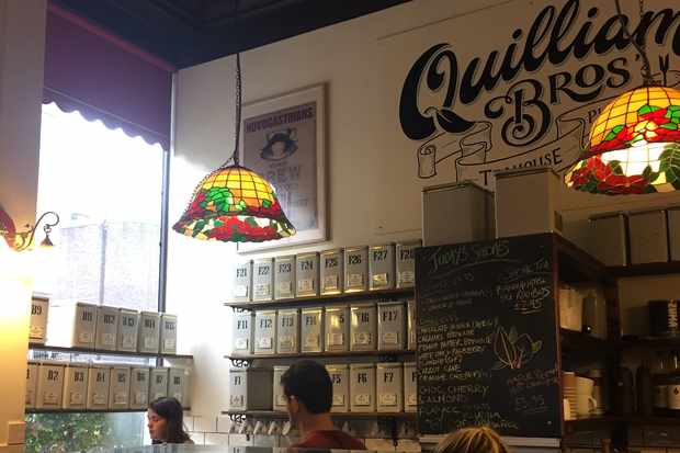 Quilliam Brothers tea tins in Newcastle