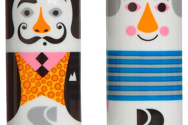 Modern Artist Salt and Pepper Pots