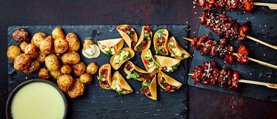 Quick and Easy Canapés Recipes