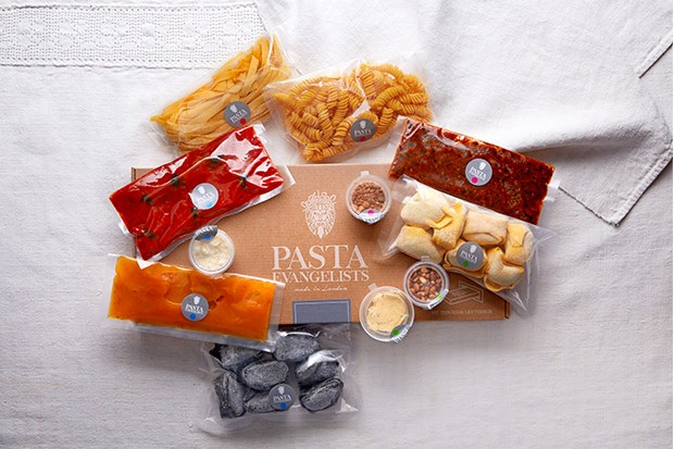 Pasta Evangelists pasta subscription box