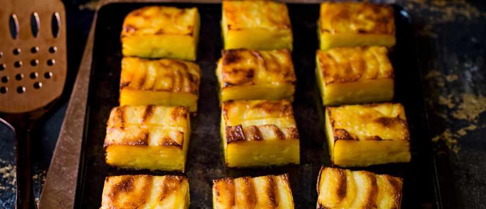 Scalloped Potatoes Recipe (Pressed Potatoes)