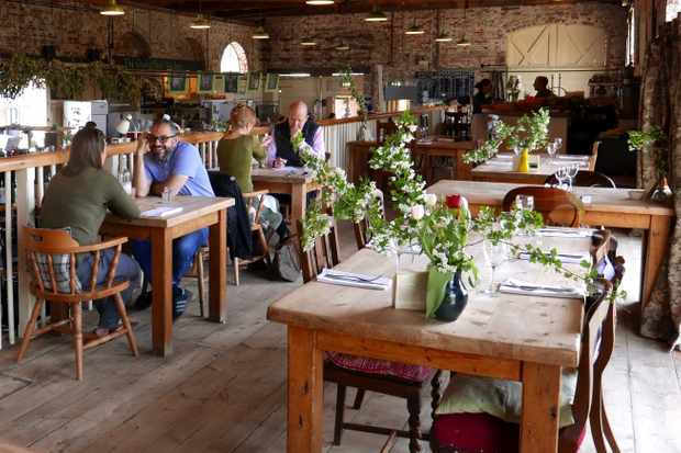 The Goods Shed, Canterbury. Photograph by Clare Hargreaves